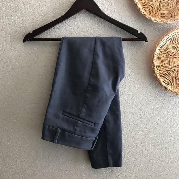 LOFT petites gray dress pants